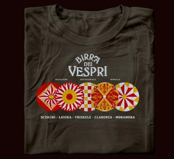 maglietta birra artiginale siciliana